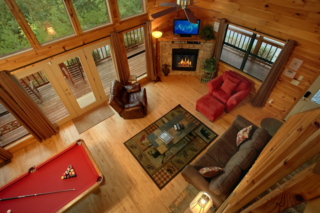 Photo of a Gatlinburg Cabin named Hawks Vue - This is the eighth photo in the set.