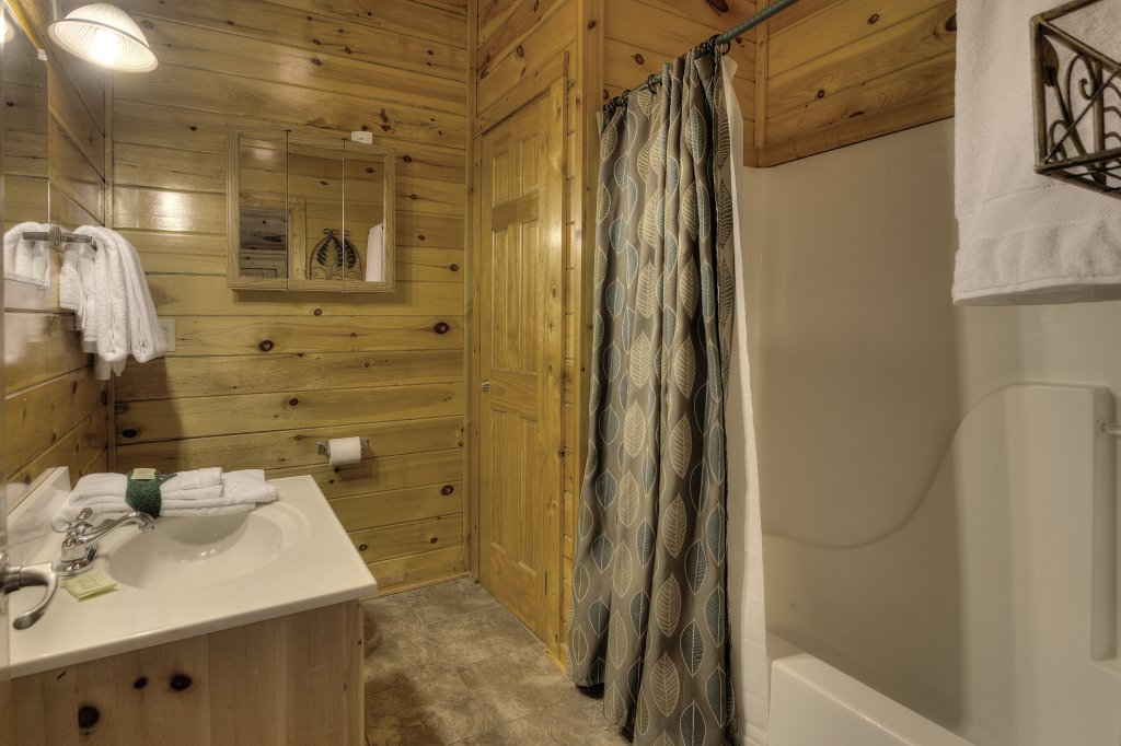 Photo of a Pigeon Forge Cabin named Blackberry Lodge - 402 - This is the forty-third photo in the set.
