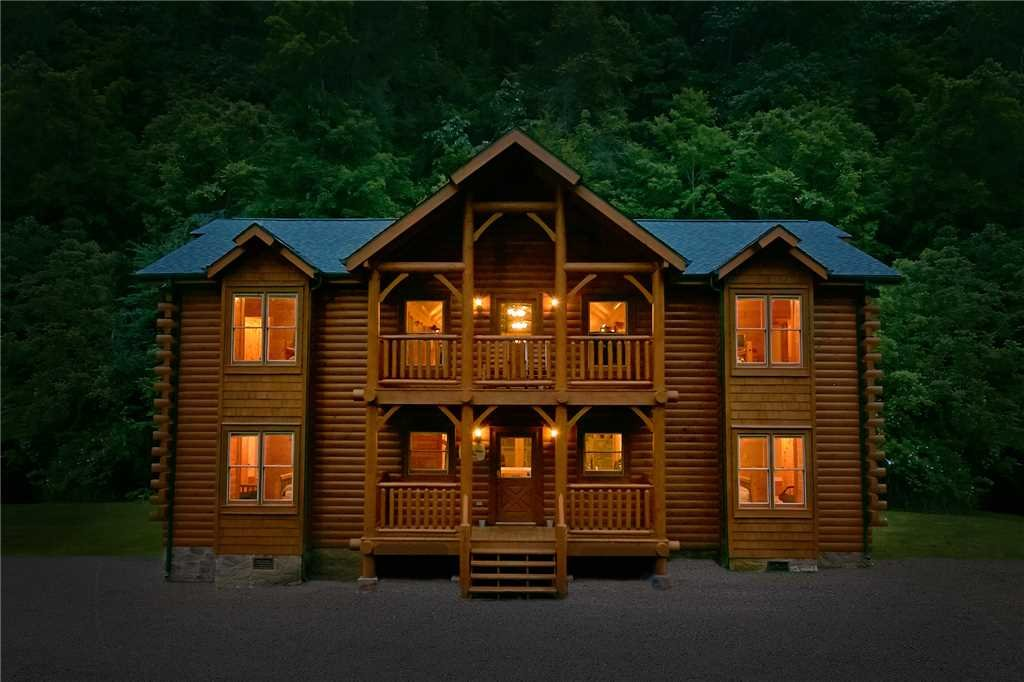 Photo of a Gatlinburg Cabin named Rushing Water Lodge - This is the first photo in the set.