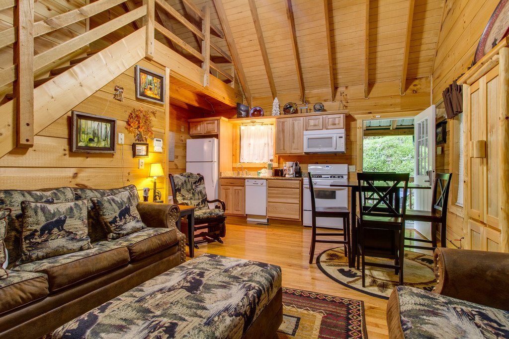 Photo of a Gatlinburg Cabin named All About Serenity - This is the third photo in the set.