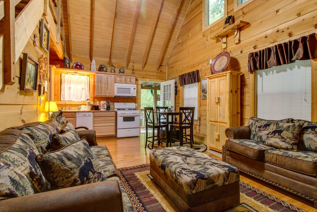 Photo of a Gatlinburg Cabin named All About Serenity - This is the first photo in the set.