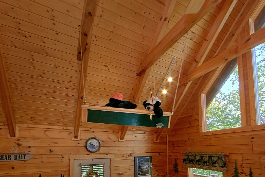 Photo of a Pigeon Forge Cabin named Boulder Bear Lodge #355 - This is the fourth photo in the set.