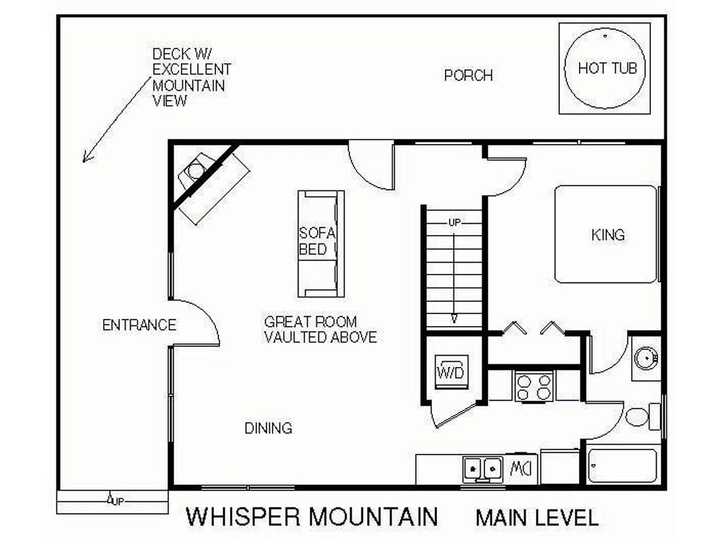Whisper Mountain Cabin In Gatlinburg W 2 Br Sleeps6