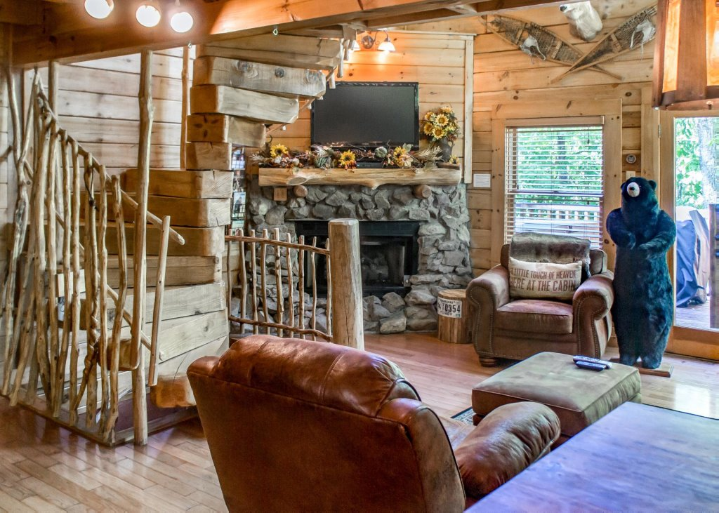 Photo of a Pigeon Forge Cabin named Higher Ground #21 - This is the first photo in the set.