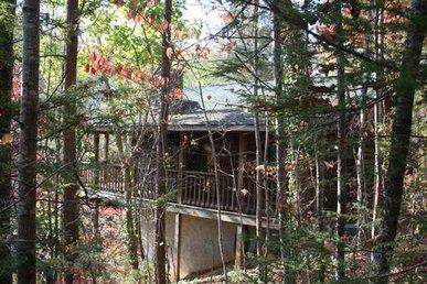 Private 1 Bedroom Cabin That Sleeps 4 In  Beautiful Wears Valley!