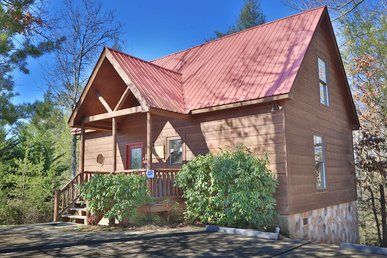 1 Bedroom Luxury Log Cabin Near Pigeon Forge With Pool Table & Arcade Game