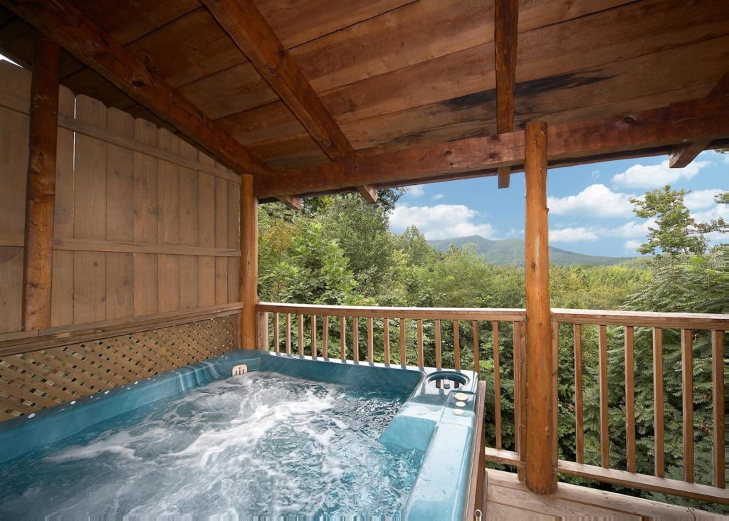 Photo of a Gatlinburg Chalet named Sequoyah - This is the twentieth photo in the set.