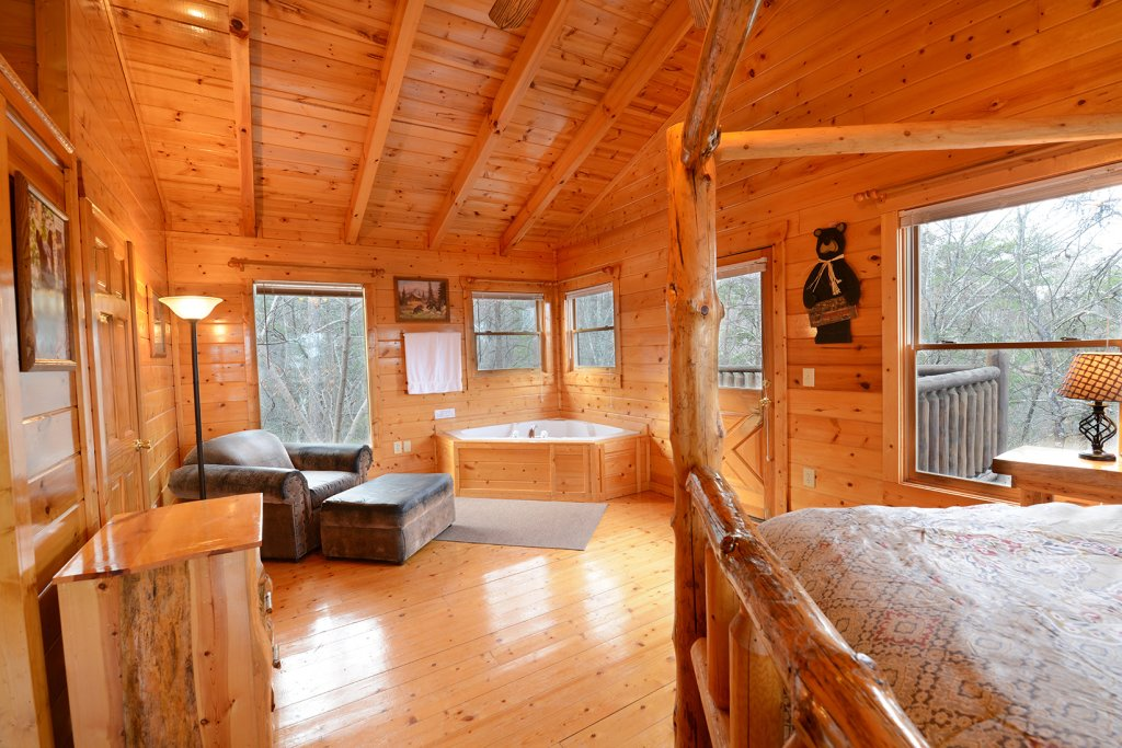 Photo of a Gatlinburg Cabin named Mountain Paradise #295 - This is the seventeenth photo in the set.