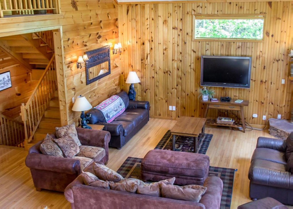 Photo of a Gatlinburg Chalet named King Of The Mountain - This is the third photo in the set.