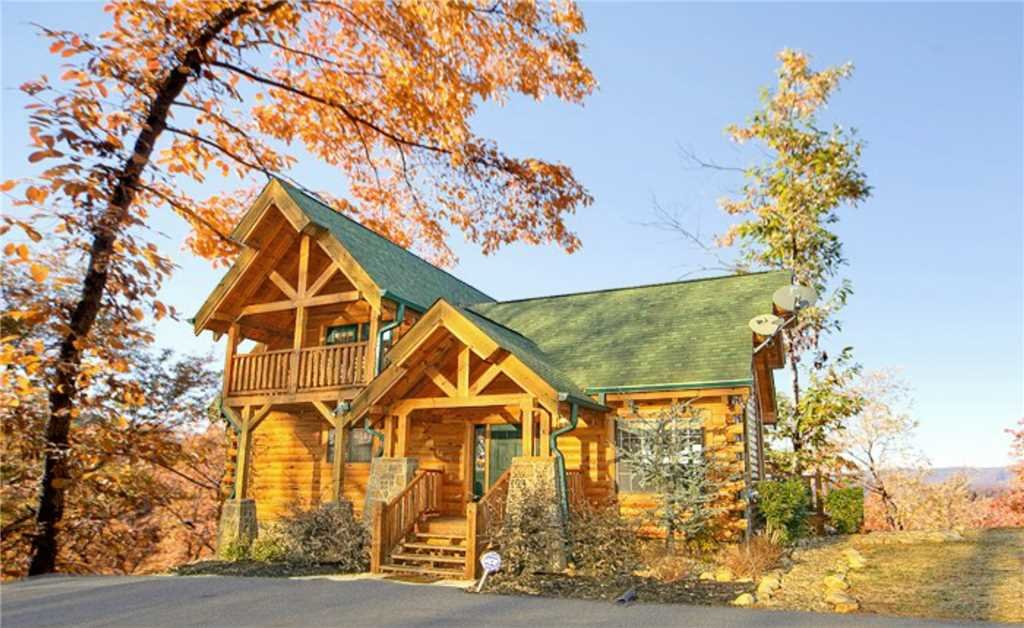 Photo of a Pigeon Forge Cabin named Ridgetop Theatre Lodge At Thunder Mountain - This is the twenty-first photo in the set.