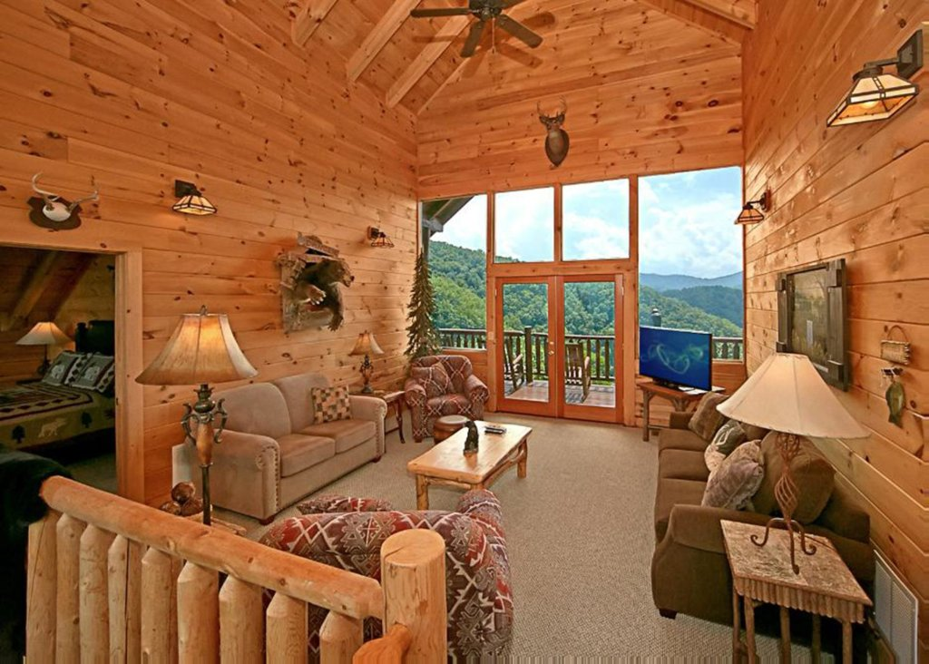 Photo of a Pigeon Forge Cabin named Above It All #38 - This is the first photo in the set.