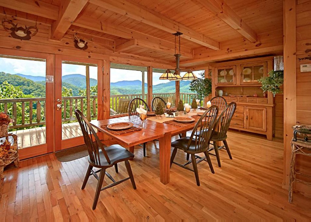 Photo of a Pigeon Forge Cabin named Above It All #38 - This is the seventh photo in the set.