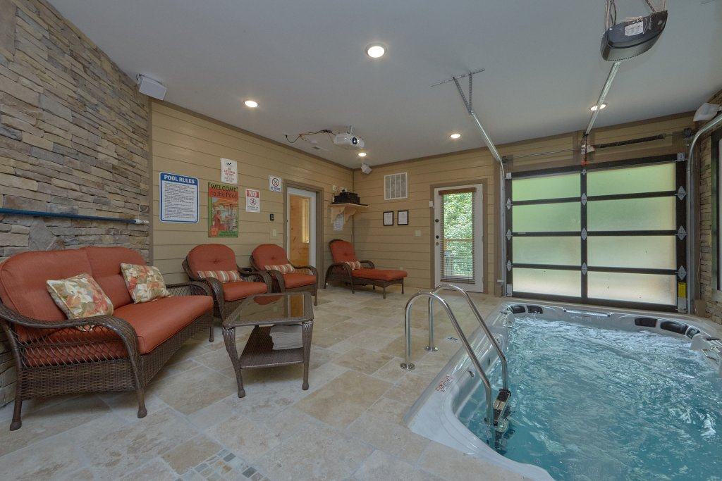 Photo of a Pigeon Forge Cabin named Poolin Around - This is the first photo in the set.