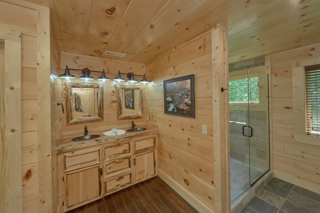 Photo of a Pigeon Forge Cabin named Poolin Around - This is the twenty-first photo in the set.