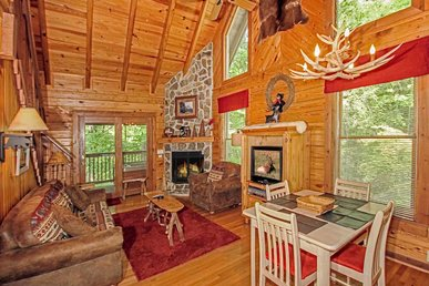 Buckhorn,  2 Bedrooms, Jetted Tub, Grill, Fireplace, Hot Tub,  Sleeps 6