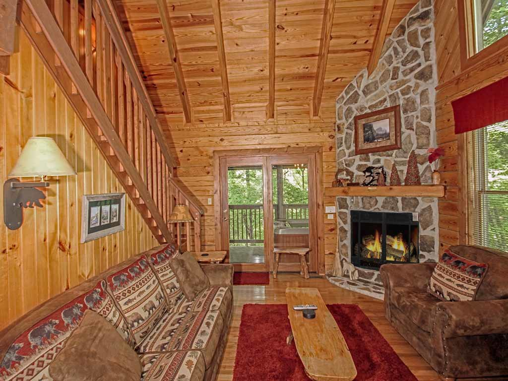 Photo of a Gatlinburg Cabin named Buckhorn - This is the fifth photo in the set.