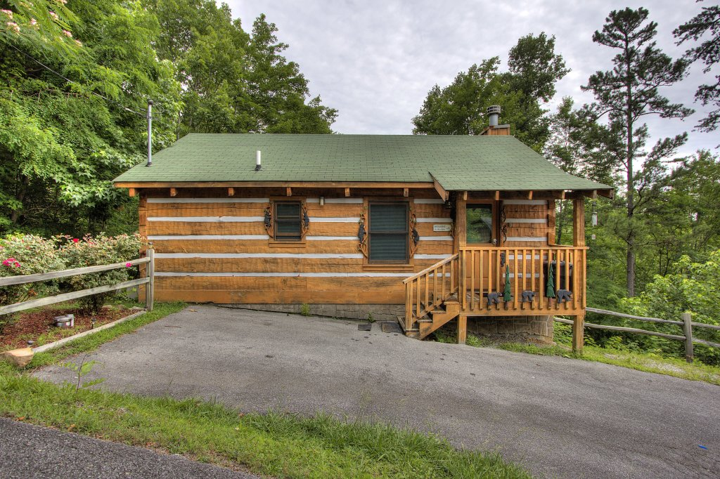 Photo of a Pigeon Forge Cabin named Apple Bear View #116 - This is the twenty-second photo in the set.