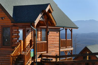 Luxury 2bedroom Cabin Legacy Resort Pigeon Forge Tn 2miles To Dollywood