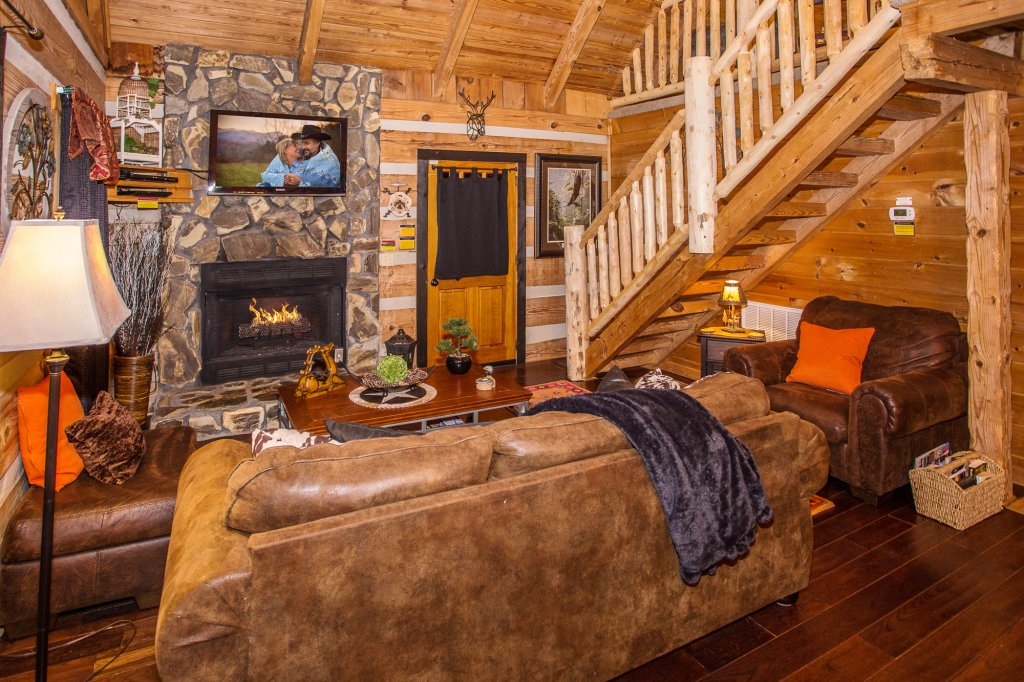 Photo of a Gatlinburg Cabin named Eagle's View - This is the sixth photo in the set.