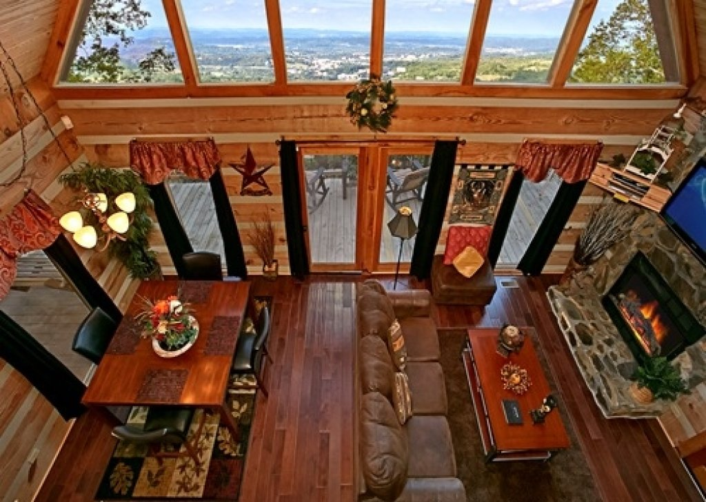 Photo of a Gatlinburg Cabin named Eagle's View - This is the thirty-second photo in the set.