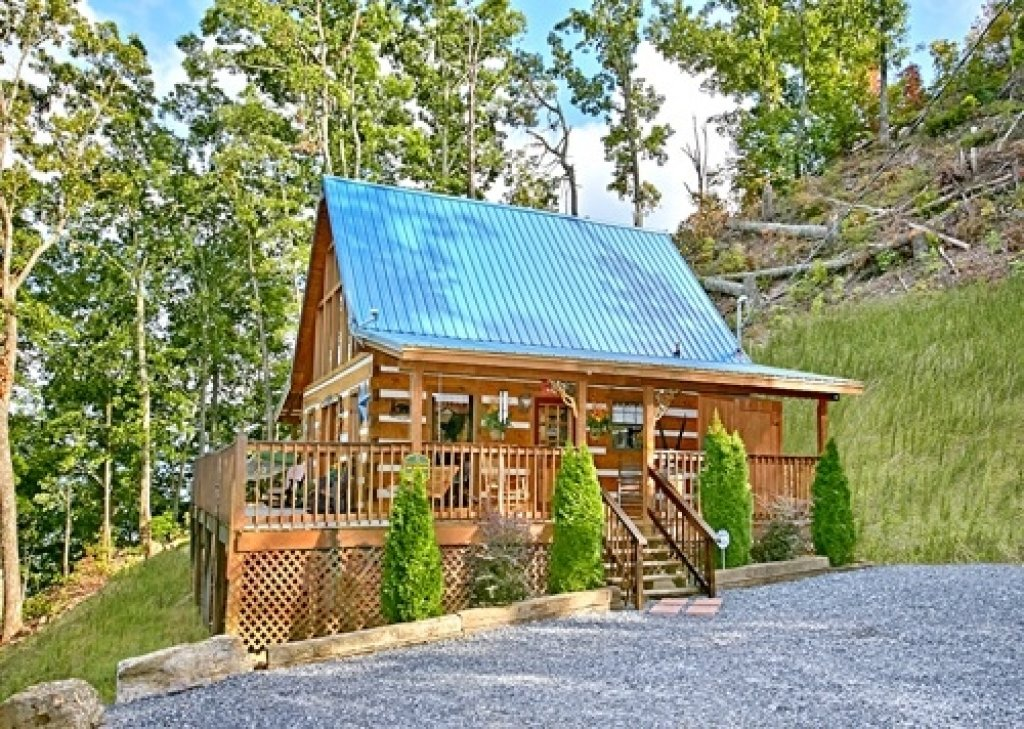Photo of a Gatlinburg Cabin named Eagle's View - This is the forty-ninth photo in the set.