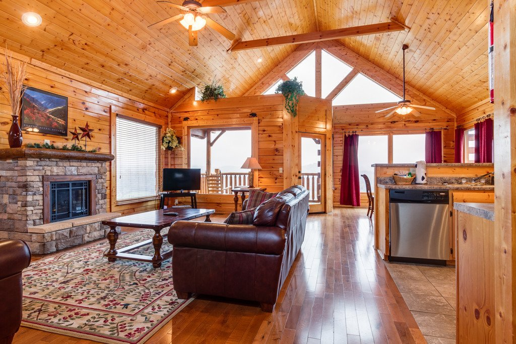 Photo of a Pigeon Forge Cabin named Star Gazer At Legacy Mountain - This is the third photo in the set.