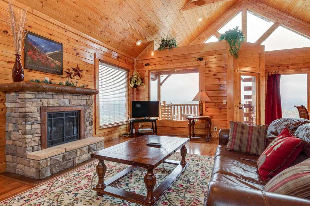 Photo of a Pigeon Forge Cabin named Star Gazer At Legacy Mountain - This is the second photo in the set.