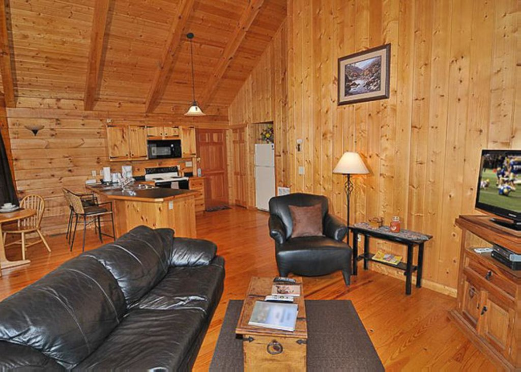 Photo of a Sevierville Cabin named A Cat's Meow - This is the third photo in the set.