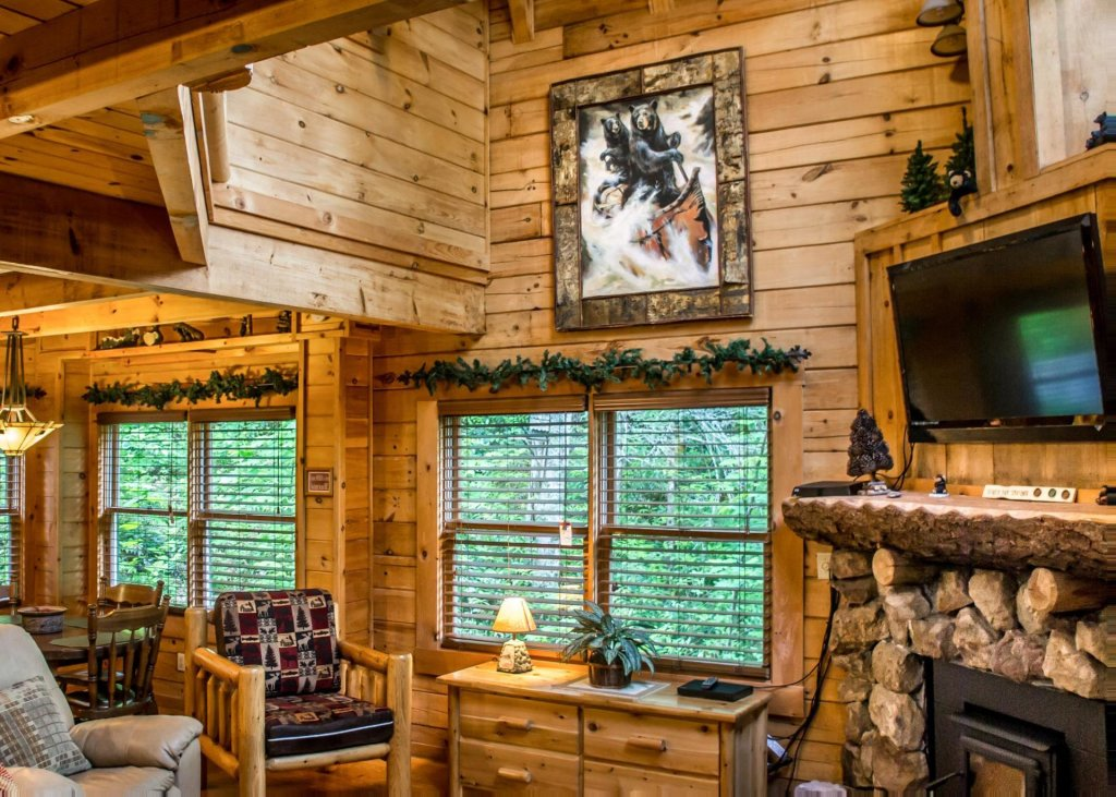 Photo of a Pigeon Forge Cabin named In The Pines #13 - This is the first photo in the set.