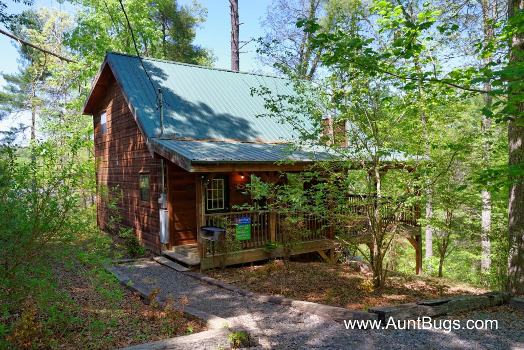 Photo of a Pigeon Forge Cabin named Above The Falls #144 - This is the first photo in the set.
