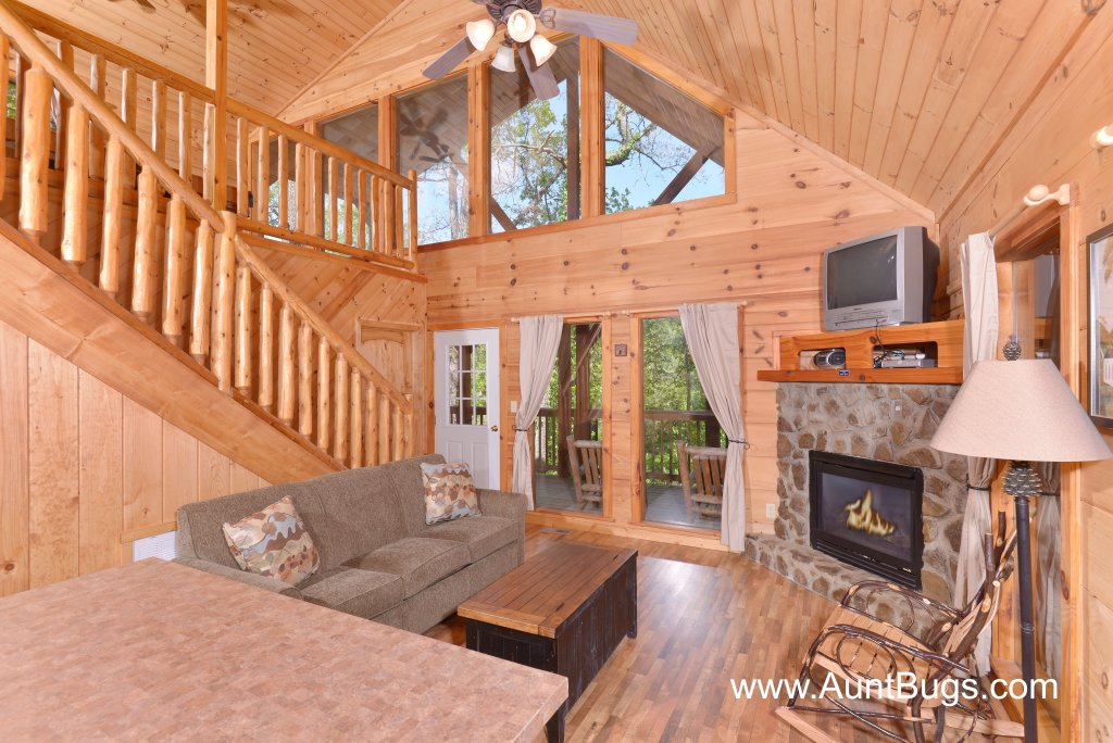 Photo of a Pigeon Forge Cabin named Above The Falls #144 - This is the fortieth photo in the set.