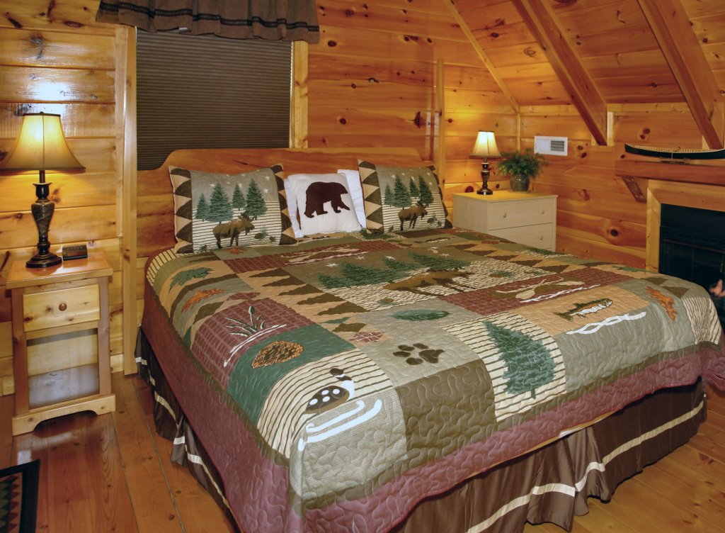 Photo of a Pigeon Forge Cabin named Buddy Bear #249 - This is the twelfth photo in the set.