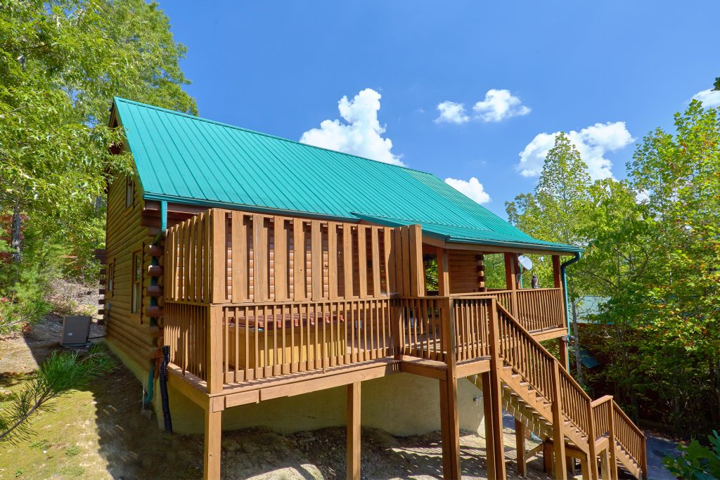 Photo of a Pigeon Forge Cabin named Heavenly Hideaway #256 - This is the nineteenth photo in the set.