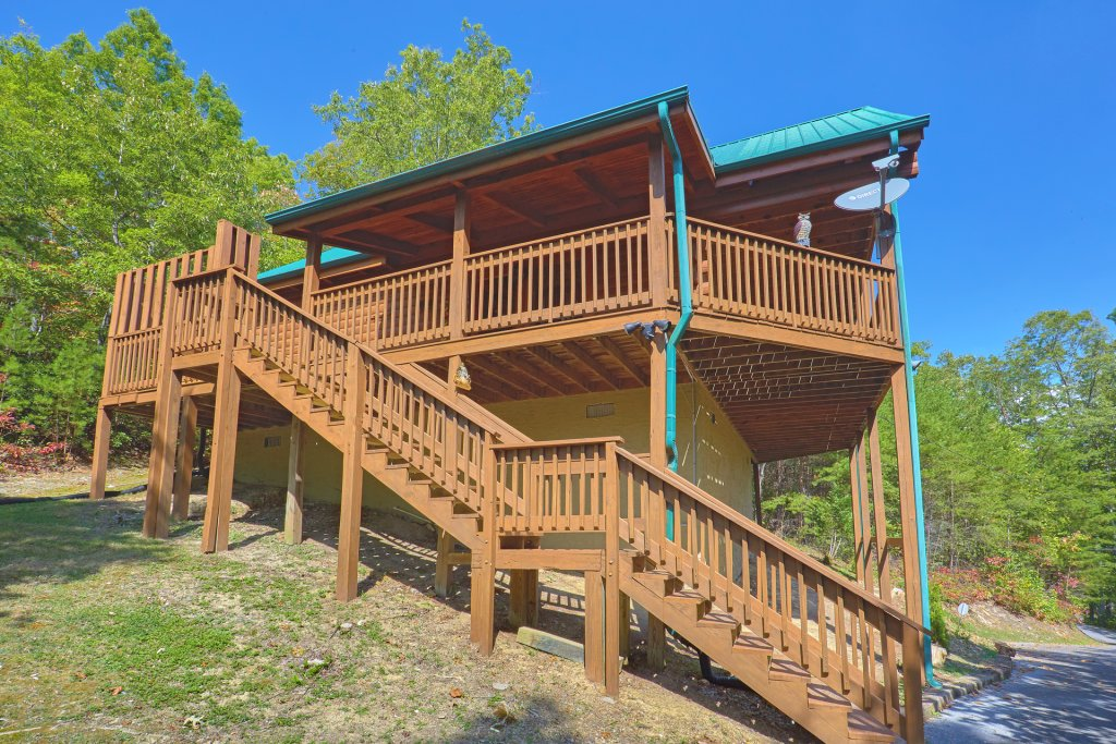 Photo of a Pigeon Forge Cabin named Heavenly Hideaway #256 - This is the thirty-third photo in the set.