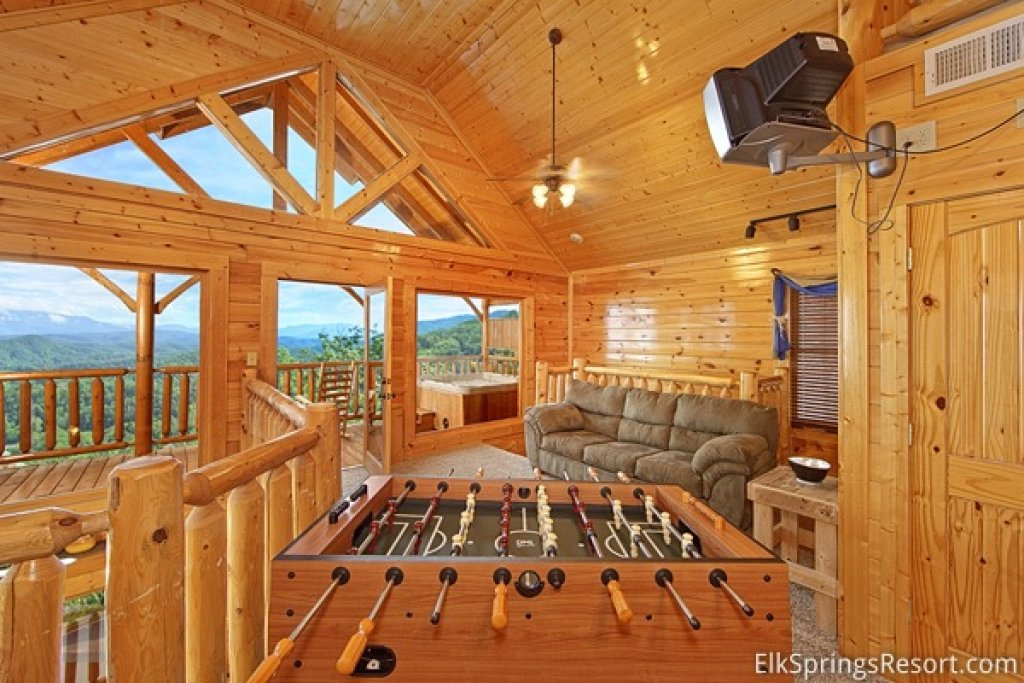 Photo of a Pigeon Forge Cabin named Endless Views (#54) - This is the fourth photo in the set.