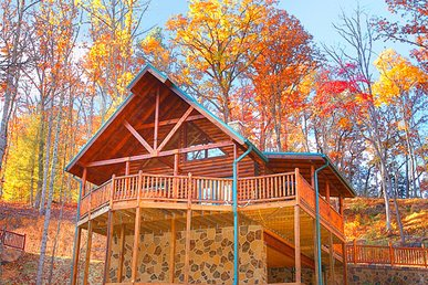 2 Bedroom Luxury Gatlinburg Cabin Minutes To Downtown