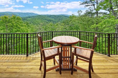 Secluded Luxury 1 Bedroom Cabin With Amazing Views