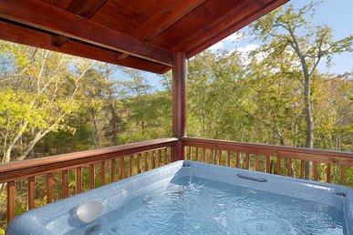 Luxury 2 Bedroom Cabin In Resort Setting.  Pet Friendly!