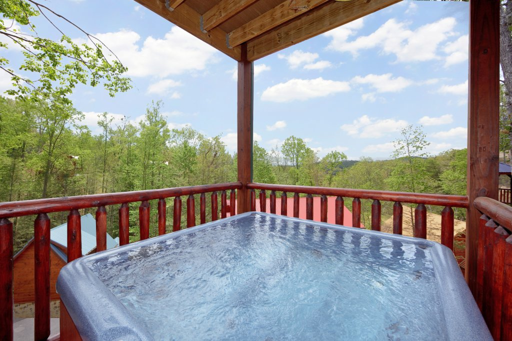 Photo of a Gatlinburg Cabin named Summit Sanctuary - This is the fifth photo in the set.