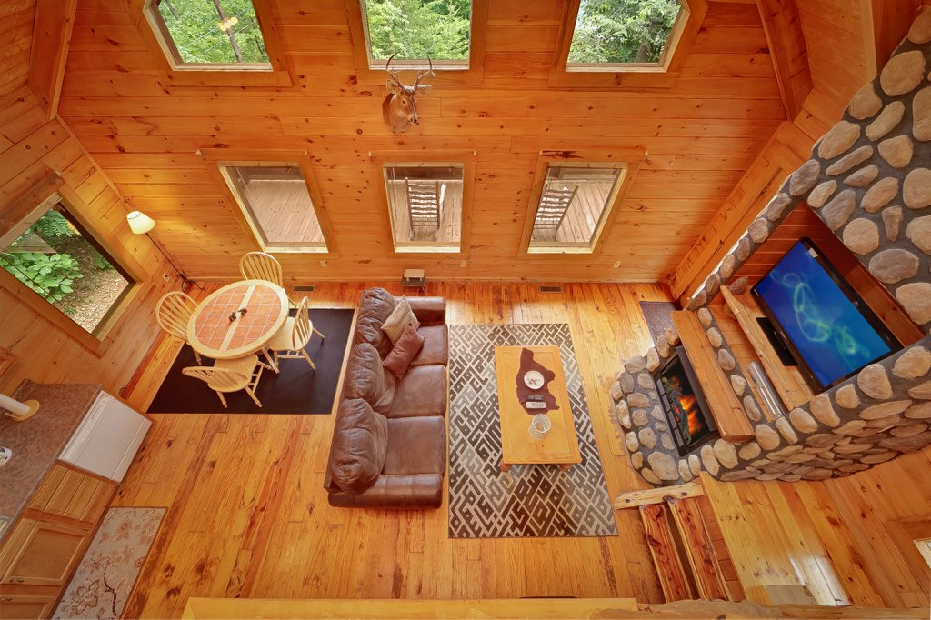 Photo of a Gatlinburg Cabin named Buckhaven - This is the eighth photo in the set.