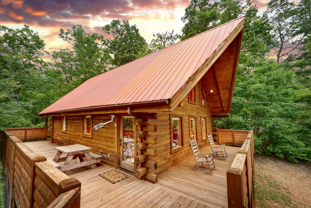 Photo of a Gatlinburg Cabin named Buckhaven - This is the fourth photo in the set.