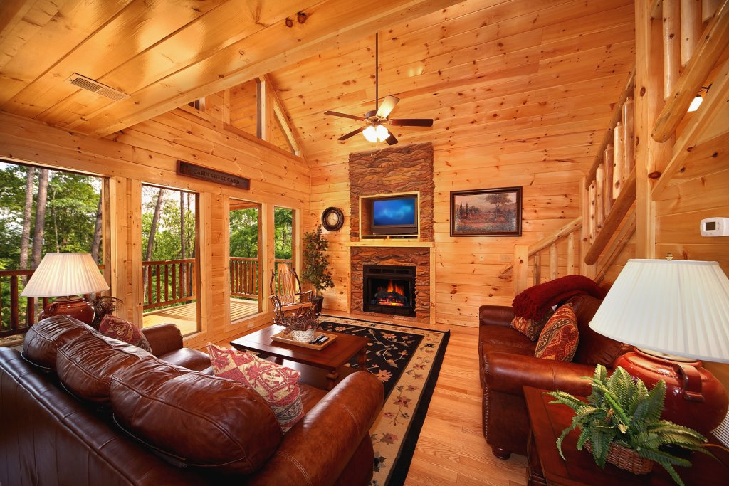 Photo of a Gatlinburg Cabin named Diamond Mine - This is the thirty-fifth photo in the set.