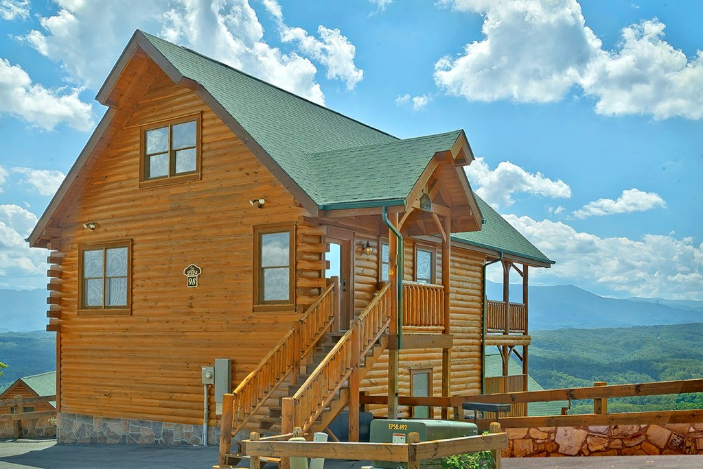 Photo of a Pigeon Forge Cabin named A Glimpse Of Heaven - This is the fourteenth photo in the set.