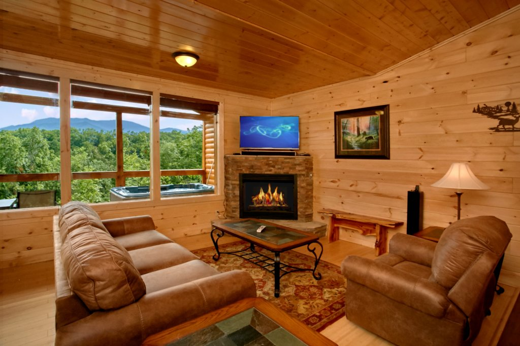 Photo of a Gatlinburg Cabin named Love Me Tender - This is the eighth photo in the set.