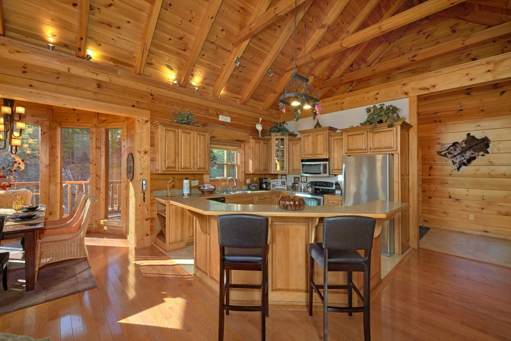 Photo of a Pigeon Forge Cabin named Tranquility - This is the eighth photo in the set.