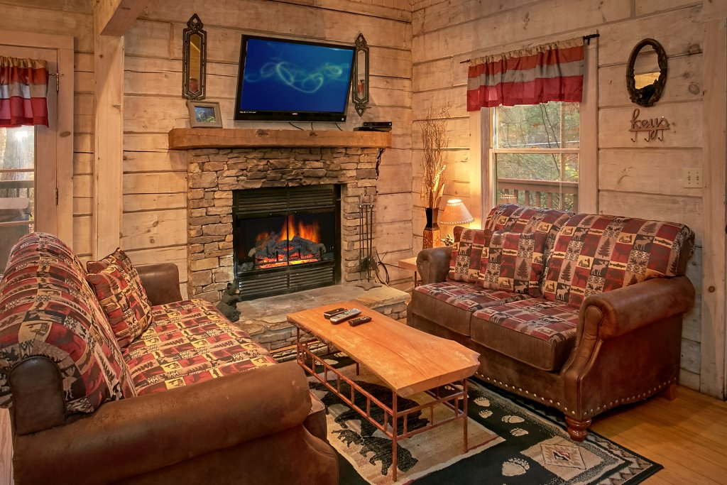 Photo of a Gatlinburg Cabin named Bear Creek - This is the fortieth photo in the set.