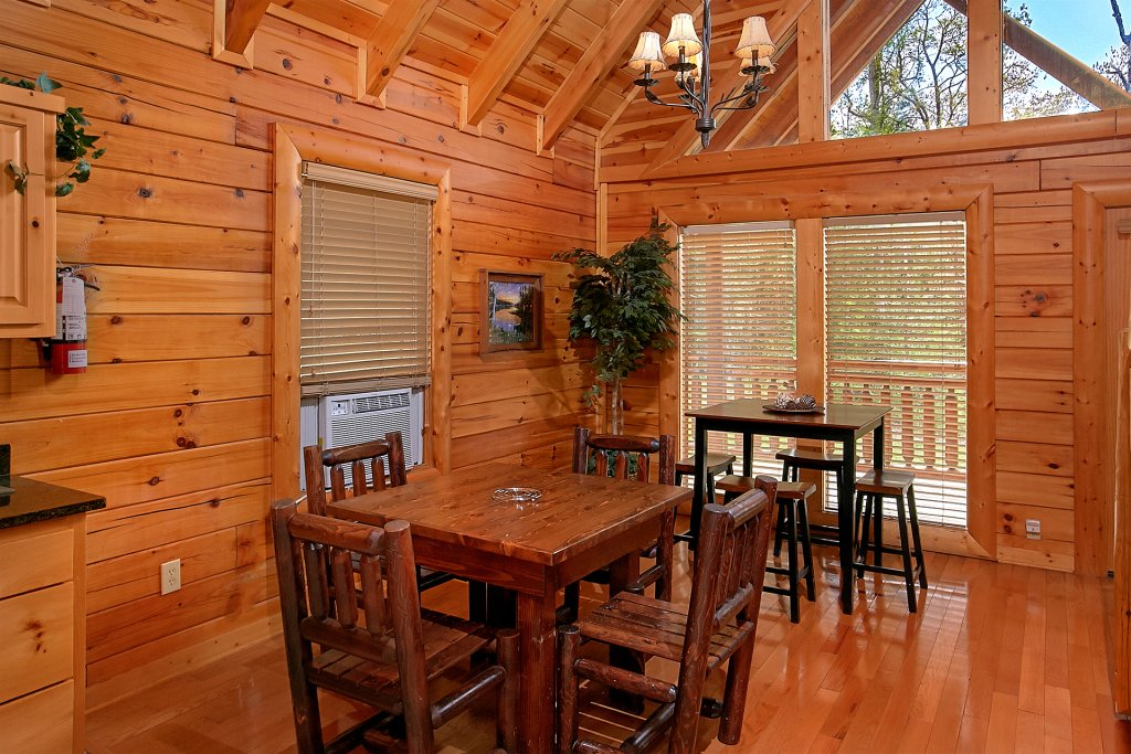 Photo of a Pigeon Forge Cabin named Skinny Dippin - This is the fourteenth photo in the set.