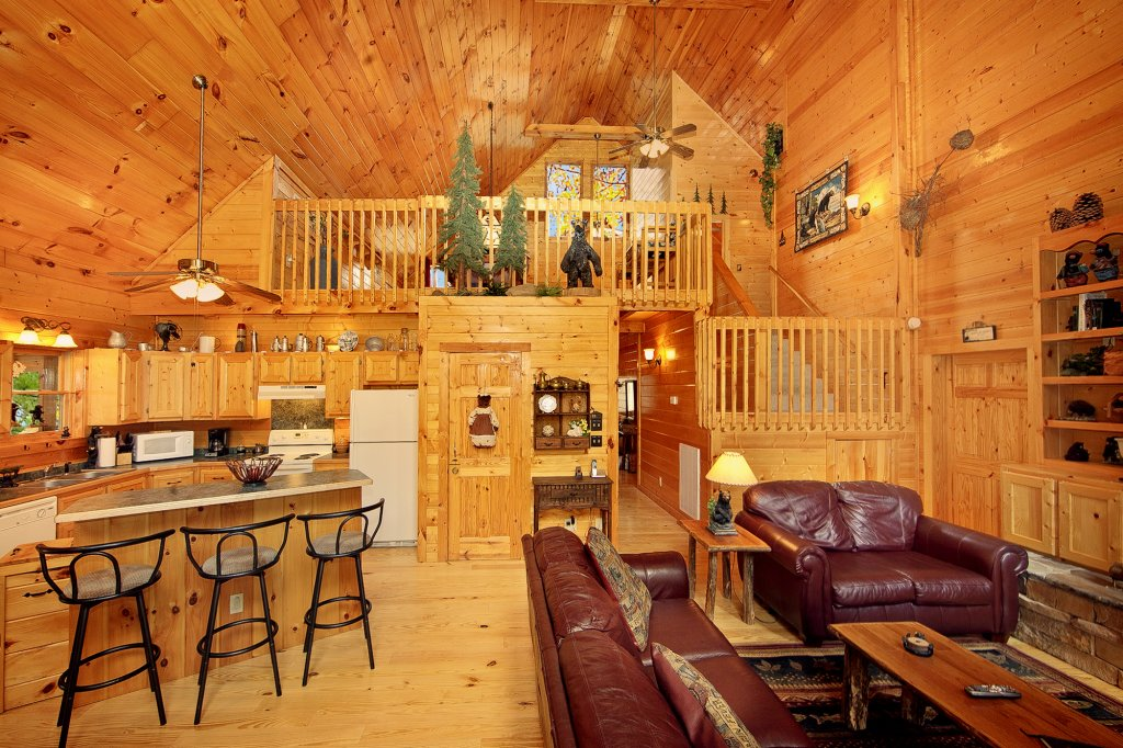 Photo of a Gatlinburg Cabin named Creeksong - This is the twenty-first photo in the set.