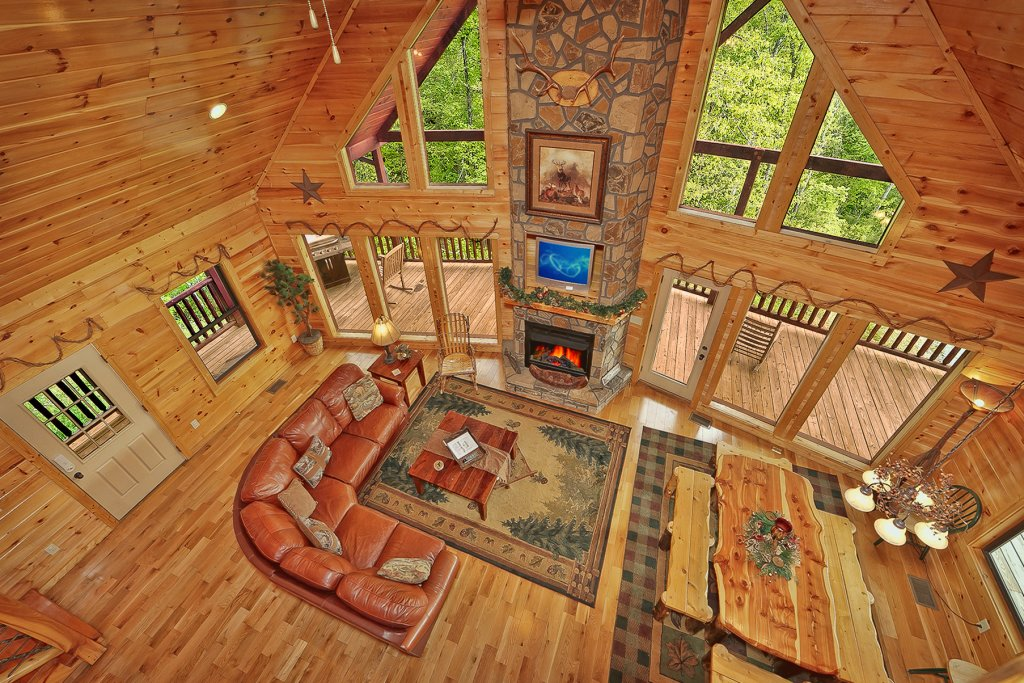 Photo of a Gatlinburg Cabin named Knotty & Nice - This is the ninth photo in the set.