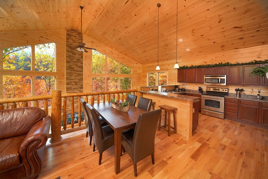 Photo of a Gatlinburg Cabin named Chalet D'amour - This is the tenth photo in the set.